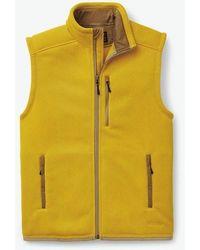 Filson Ridgeway Fleece Vest - Pilsner - Yellow