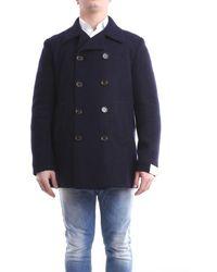 Eleventy Outerwear Short - Blue