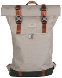 Doughnut Christopher Roll-top Backpack Stone Cordura - Multicolor