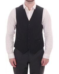 Oliver Spencer Pinstriped Waistcoat - Blue