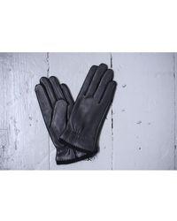 Hestra - Charlotte Black Leather Gloves - Lyst