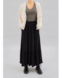Busby & Fox Mopsa Midi Skirt - Black