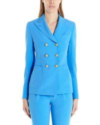 Tagliatore Women's Tanise97177i1210 Light Blue Dress