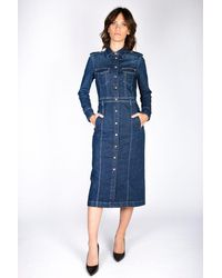 7 For All Mankind Dresses - Blue