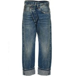R13 Other Materials Jeans - Blue