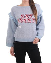 Hayley Menzies Get Lucky Sweater - Blue