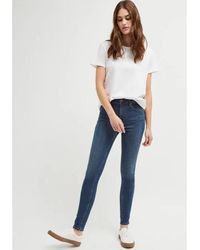 French Connection Fcuk Rebound Skinny Jeans - Vintage - Blue