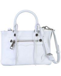 Rebecca Minkoff Women's Hh18epbx61129o White Leather Handbag