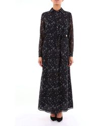 Alessandro Dell'acqua Long Blue Fantasy Dress