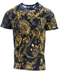 Versace Jeans Couture T-shirts And Polos - Black