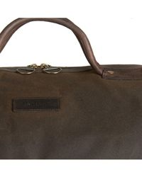 Barbour - Wax Holdall - Lyst