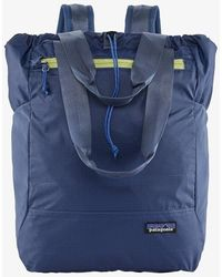 Patagonia Ultralight Backpack Black Hole Tote Pack - Current Blue