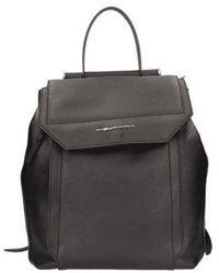 Piquadro Leather Backpack - Black