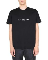 Givenchy Oversize Fit T-shirt - Black