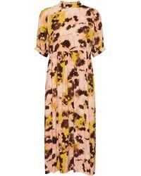 Ichi Vauna Pink Dress