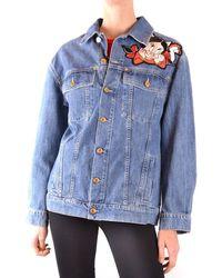 Moschino Porky Pig And Petunia Jacket - Blue