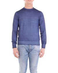 Cruciani Sweater Men Blue Aviation