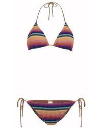 Tooshie Isabella Maglia Bikini - Multicolor