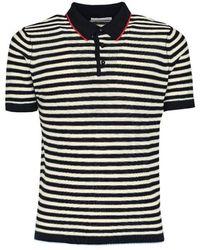 Daniele Alessandrini Cotton Polo Shirt - Blue