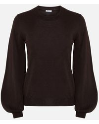 P.A.R.O.S.H. Brown Round Neck Sweater