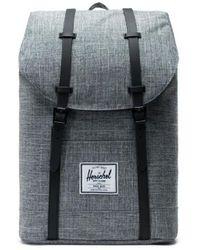 Herschel Supply Co. Retreat Backpack - Raven Crosshatch / Black