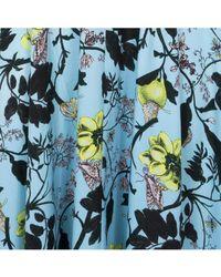 Essentiel - Ps Blue Floral Dress - Lyst