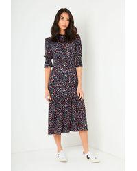 Wyse London Aimee Leopard Print Dress - Multicolor