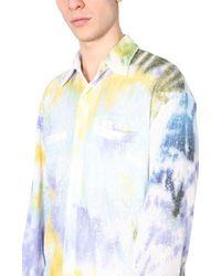 Gcds - Oversize Fit Shirt - Lyst