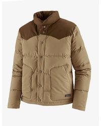 Patagonia Bivy Down Jacket - Classic Tan Colour: Classic Tan - Brown