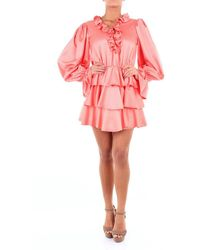 ACTUALEE Short Peach-colored Dress - Pink