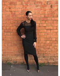 Diva Monet Dress - Black