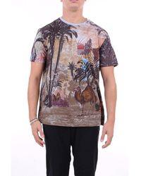 Etro T-shirt Short Sleeve Men Fantasy - Multicolor