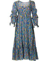 Kristinit Autumn Love Dress - Multicolor