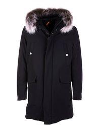 Rrd Winter Parka Fur W Black