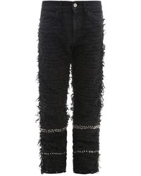 1017 ALYX 9SM Trouser With All-over Stitching - Black