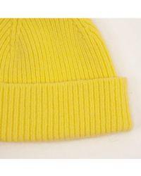 Le Bonnet Acid Yellow Beanie Hat