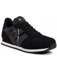 Armani Exchange Flat Shoes - Black