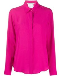 Stella McCartney Women's 606912sy2065624 Fuchsia Silk Shirt - Pink