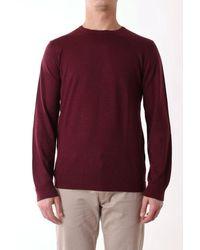 Jurta Sweater Men Bordeaux - Purple