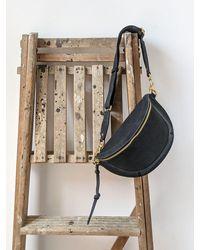Étoile Isabel Marant Skano Black Suede Cross-body Bag