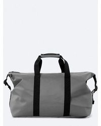 Rains Weekend Duffle Bag In Charcoal - Grey