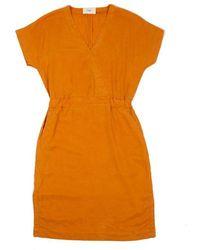 Folk Folk Alber Dress In Marigold - Yellow