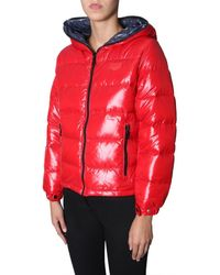 Duvetica - Red Synthetic Fibers Down Jacket - Lyst