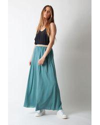 Hartford Juillet Skirt Lagoon - Blue