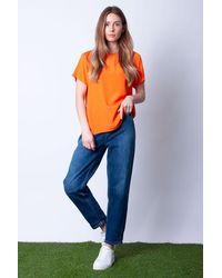 Ottod'Ame Maglia T-shirt In - Orange