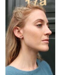 Anna + Nina - Twirl Chain Earrings - Lyst