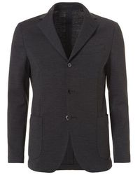 Lardini Wool Blazer - Black