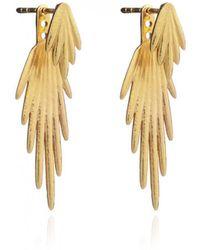Rachel Jackson - Electric Goddess Jacket Earrings - Lyst