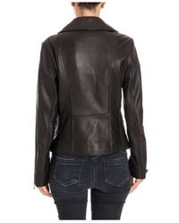 DESA NINETEENSEVENTYTWO Leather Jacket - Black