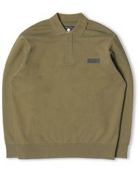 Edwin Polo Sweat - Uniform - Green